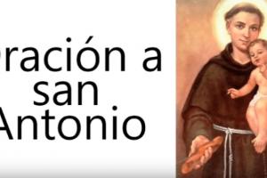 Oración a San Antonío para un Milagro o Petición