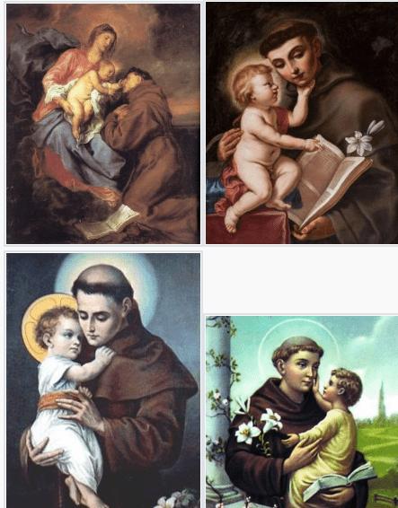 vida de san antonio de padua,biografia de san antonio de padua,imagenes de san antonio de padua